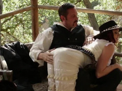 Old West hardcore fun with cowgirl slut Chanel Preston