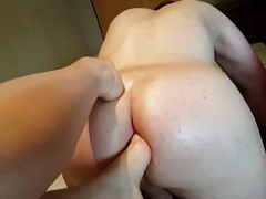 Foot Fist-fucking Anal