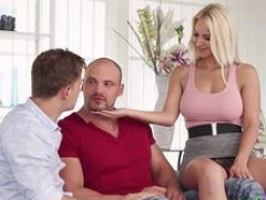 BIsexempire Bisex man joins couple in threesome