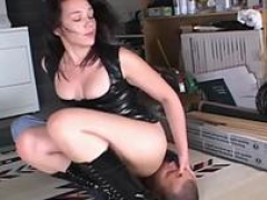 ligatured up and tortured female domination feature 4