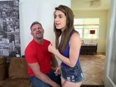 Blonde taboo handjob fully hardcore Raylin is having a raunchy time learning to drive
