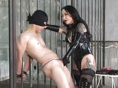 CBT Boots and moreover Dick Slapping Domina