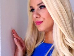 Ravishing blonde has an affair with her BF's pal