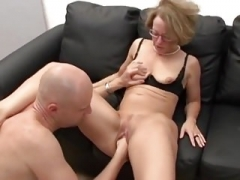 Old German Secretary Fucked and moreover Fisted