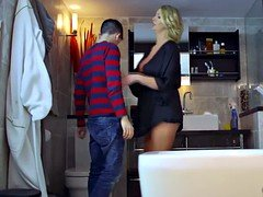 Jordi El Nino Polla stuffed Leigh Darby his thick phallus