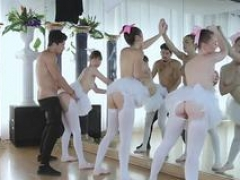 Group orgy 1 Ballerinas