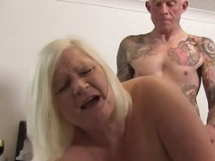 Nasty Lacey Starr slurps sizeable cock before penetration