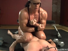 FBB - Annie Muscle Supremacy!