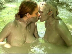 Pervy Lesbians Wants To Make Love In The Swamp Of Dirt