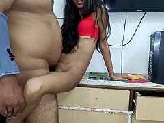 Small indian young snatch creampie