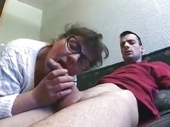 Granny Bbw with glasses well fucked