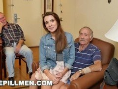 BLUEPILLMEN - Introducing Grown-up Lad Duke to Teen Naomi Alice (bpm14870)