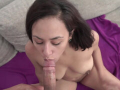 Beautiful amateur latina La Maca getting her pussy filled