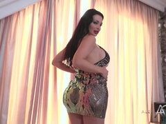 Wow sexy cute euro pornstar Aletta ocean - boob play and ass fingering