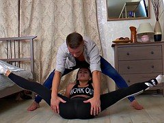 positively flexible teen fucked