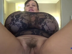 Homemade Porn POV Video Clip With Shameless Chubby Mom