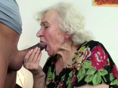 Blonde, Sucer une bite, Allemand, Mamie, Hard, Hd, Lingerie