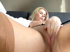 Nikky wish porked point of view In Tan Nylons