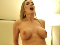 Hot woman was hired for fun