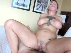 Hot Harlow Harrison gives oral in a wonderful sex tape