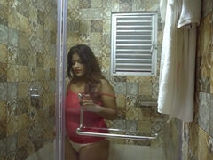 Dirty Hotel busty indian babe porn video