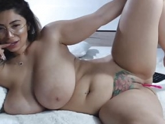 Subliminal Romanian Huge Natural Boobed Webcammer