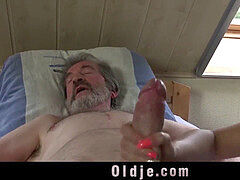nubile nurse damsel Dee plow treatment for sick old patient
