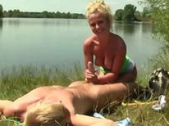 Dutch 18-19 year old nailed by lake