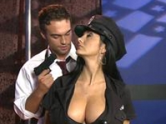 Hooters in uniform - Ava Addams Rocco Reed - Titties on Patrol - Brazzers