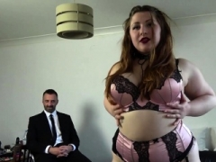 Kinky big beautiful women Estella Bathory submits to Pascals BDSM slamming