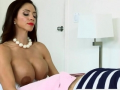 Large breasts mom i`d like to fuck and 18-19 year old slut appreciating 3some session