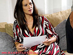 beautiful Step mom and son Try Anal HD Mandy Flores