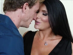 Hotwife Romi Rain got mouth & pussy fucked by her co-worker