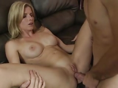 Stepmom loves backdoor fucking
