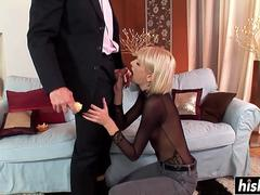Wiska seduces her man for some anal