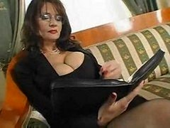 Old Boobalicious Secretary Sex