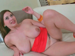 Amazing and plus busty gal Selena gets her juicy cunt fucked hard