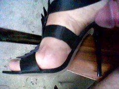 Cum My High Heels Sandals