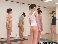 Japanese girls practicing Oriental undressed part2