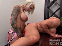 dani andrews hot brandimae Duchess with a strap on