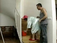 Boss Make love Mature Maid