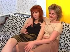 Young-looking lesbians and moreover a mature dame