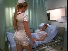 A pair of Hot Nurses Get down and dirty A Patient In The Hospital