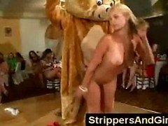 Dancing Bear strippers and loads of girls on dame ht