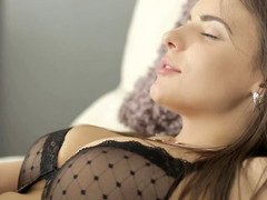 A big-breasted woman likes to do rectal and so does her lover here