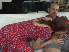 Beautiful Violet Monroe fucked in her sexy bushy vagina