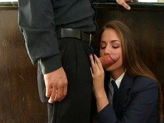 Tori Black is a utterly lascivious schoolgirl