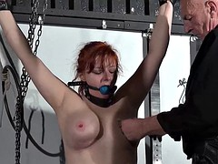 Swedish submissive vicky Valkyrie bound