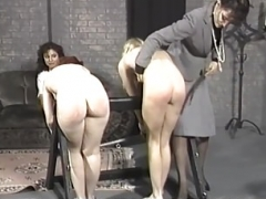 Chicks School spanking 02-painfull lesson