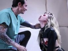 Hell aha! Goth 18-19 year old nympho Ivy Wolfe goes Insane!